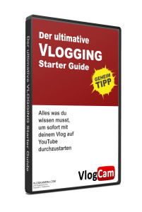Der ultimative Vlogging Starter Guide DVD 3D